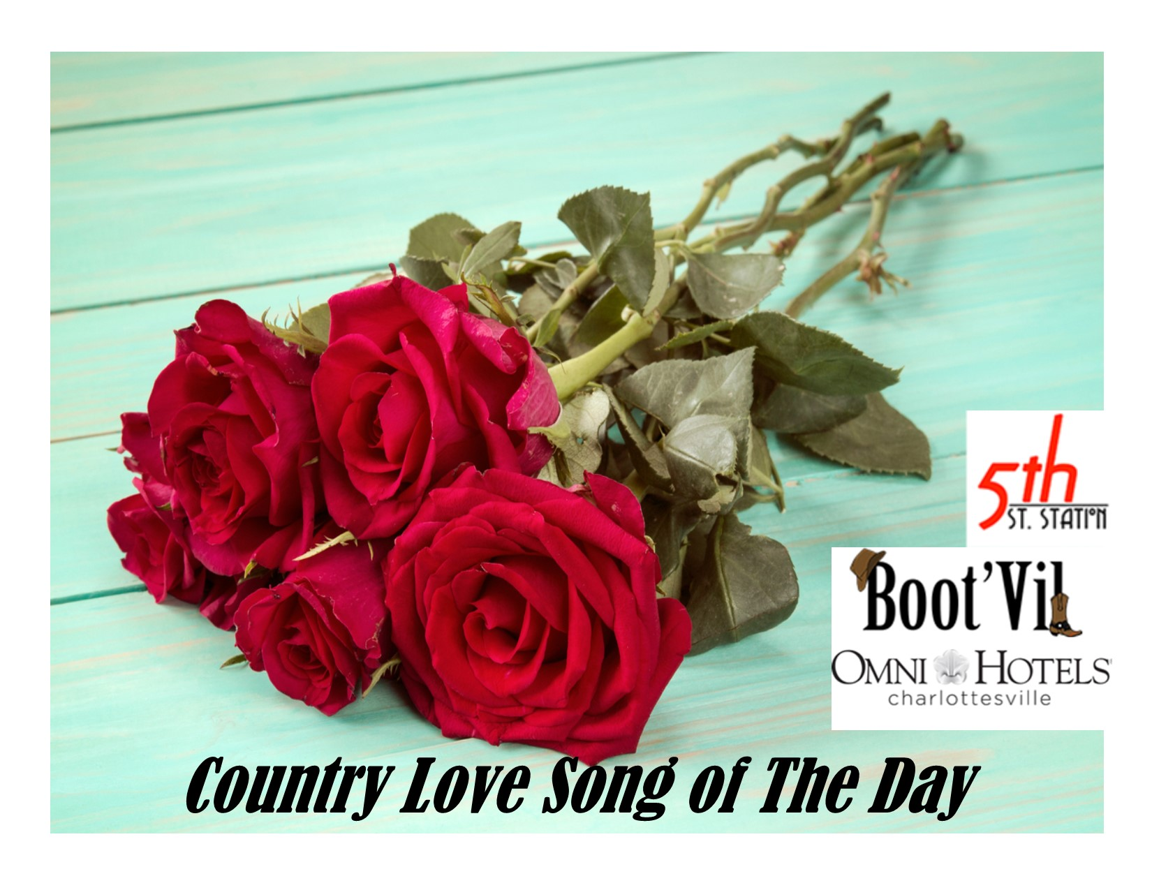 Country Love Songs Graphic | C-Ville Country 92 7 WCVL-FM